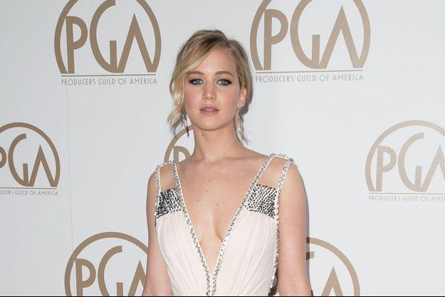 Jennifer Lawrence le 24 janvier dernier à Los Angeles