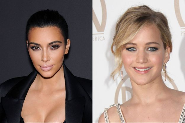 Jennifer Lawrence, inconditionnelle de Kim Kardashian