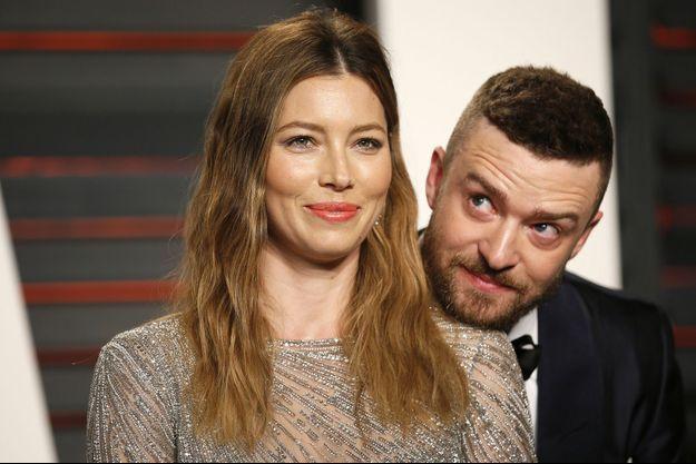 Jessica Biel et Justin Timberlake à Los Angeles le 28 février 2016
