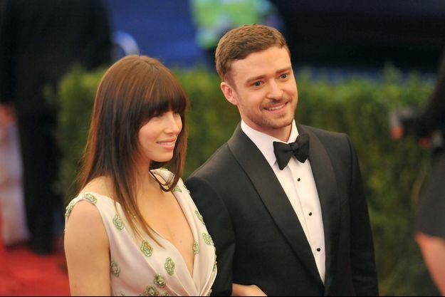 Jessica Biel et Justin Timberlake à New York en mai 2012