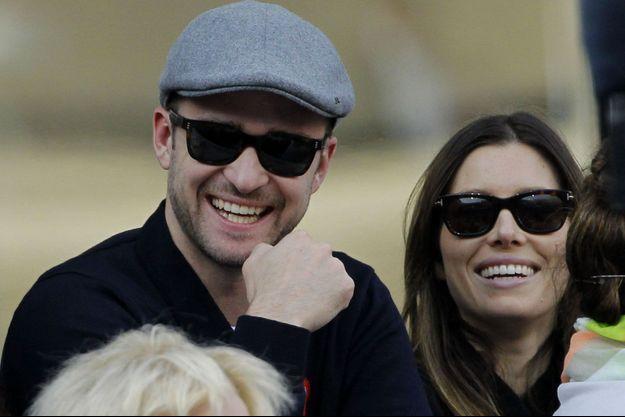 Justin Timberlake et Jessica Biel en septembre 2013.