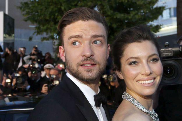 Justin Timberlake et Jessica Biel au Festival de Cannes en 2013.