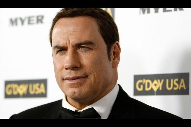 John Travolta, au gala G'Day USA en 2010