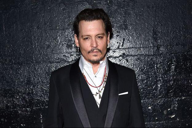 Johnny Depp à Hollywood, en février 2016.