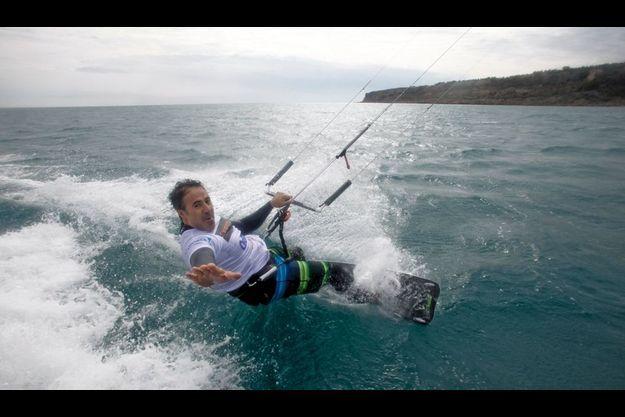 José Garcia kiffe le kite...