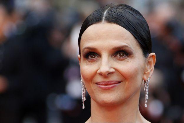 Juliette Binoche lors du 69e Festival de Cannes, mai 2016.