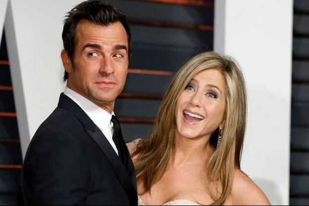 Justin Theroux et Jennifer Aniston, les inséparables.