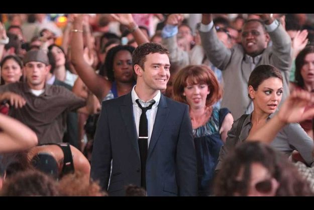 """Justin Timberlake sur le tournage de """"Sexe entre amis"""" avec Mila Kunis"""