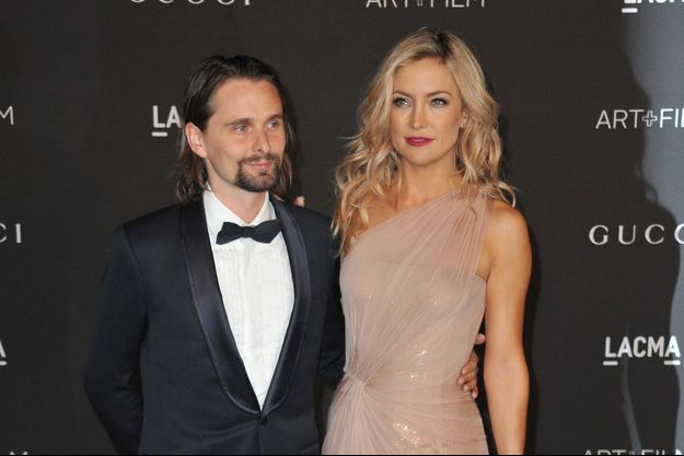 Matthew Bellamy et Kate Hudson au gala du Lacma à Los Angeles le 1er novembre dernier