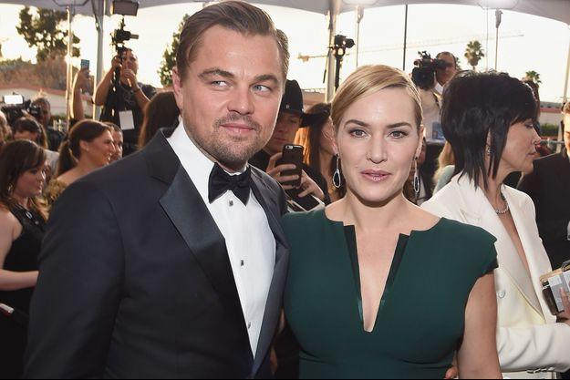 Leonardo DiCaprio et Kate Winslet
