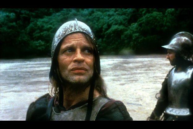 """Klaus Kinski, dans """"Aguirre ou la colère de Dieu""""."""