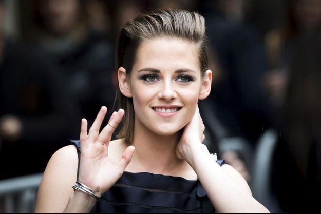 Kristen Stewart a pris la pose devant l'objectif du photographe Mario Testino.