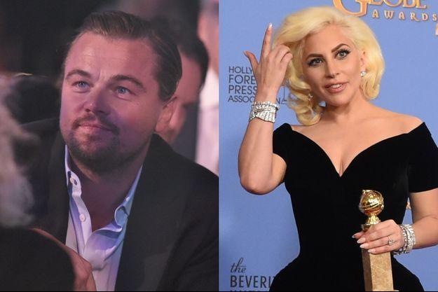 Leonardo DiCaprio et Lady Gaga