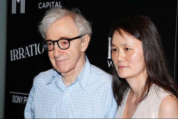 Woody Allen et Soon-Yi en juillet 2015.