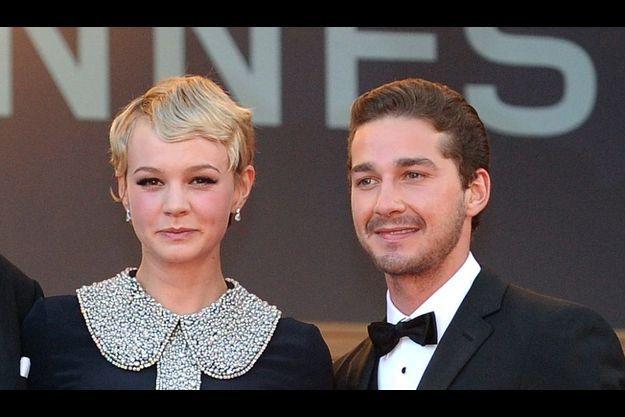 Shia LaBeouf et Carey Mulligan au 63ème Festival de Cannes pour la présentation de Wall Street 2