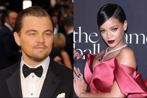 """Leonardo DiCaprio et Rihanna seraient bien en couple, mais pas """"exclusifs""""."""