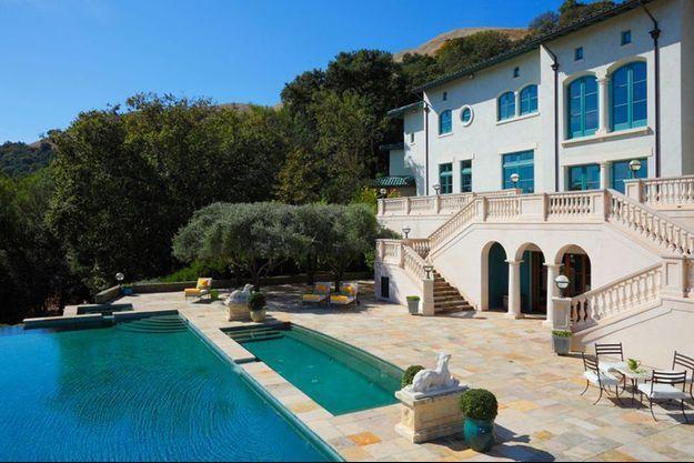 L'ex-villa de Robin Williams, dans la vallée de Napa
