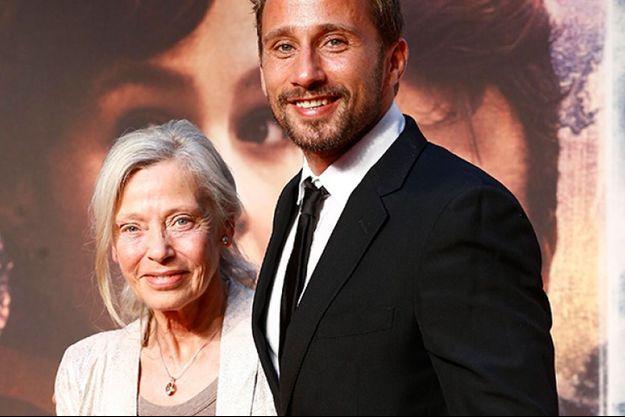 Matthias Schoenaerts et sa maman, Dominique Wiche.