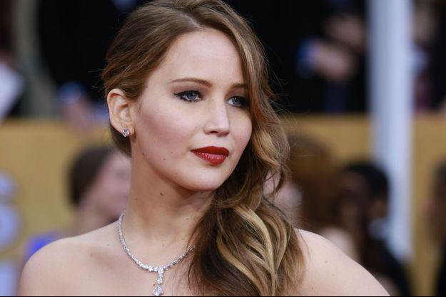 Jennifer Lawrence n'a pas le moral.