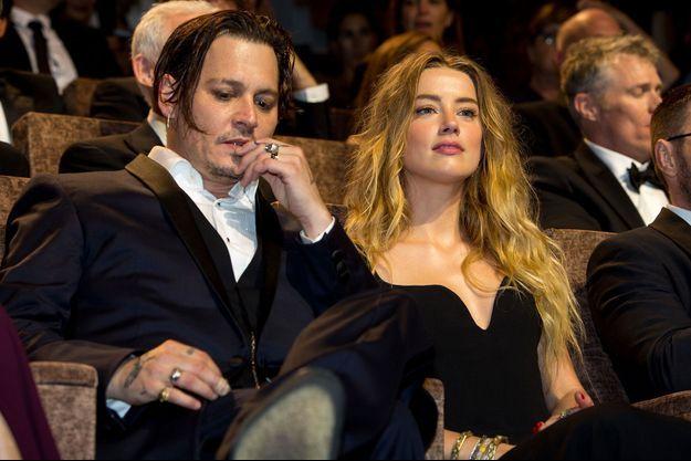 Johnny Depp et Amber Heard à la Mostra de Venise en septembre dernier.