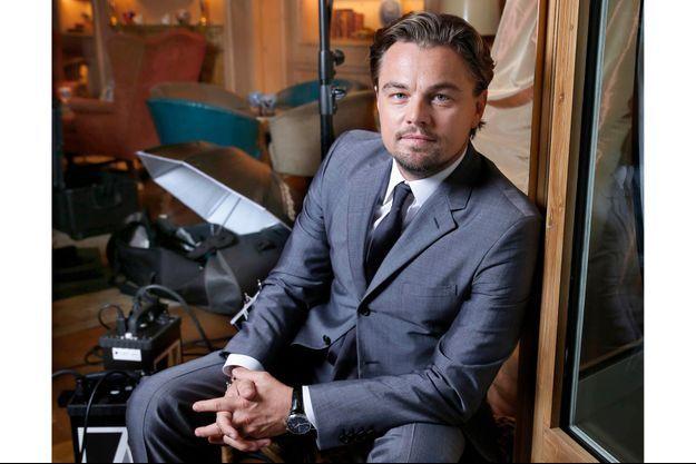 Leonardo DiCaprio pose pour Match.