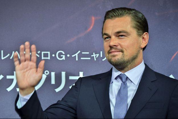 Leonardo DiCaprio à Tokyo le 23 mars 2016