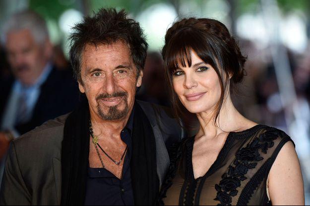 Al Pacino et Lucila Sola à Londres le 21 septembre dernier