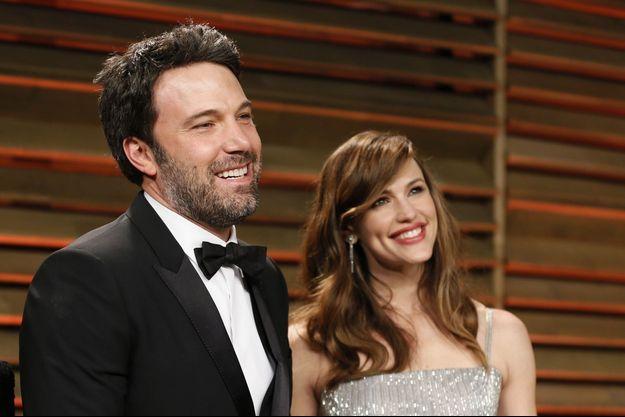 Ben Affleck et Jennifer Garner à la soirée Vanity Fair des Oscars en mars 2014