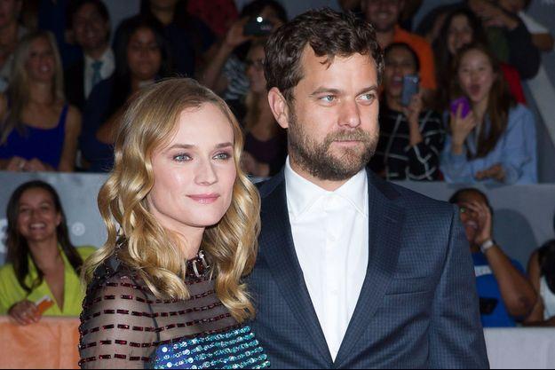 """Diane Kruger et Joshua Jackson à l'avant-première de """"Disorder"""" lors du festival international du film de Toronto 2015 le 17 septembre dernier."""