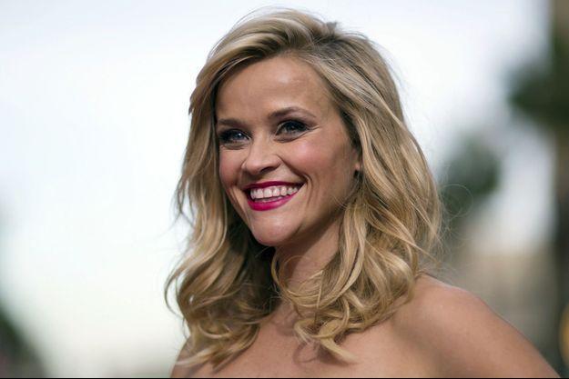 """L'actrice Reese Witherspoon à l'avant-première hollywoodienne de """"Hot Pursuit"""" le 30 avril 2015."""