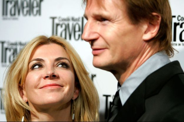 Natasha Richardson et Liam Neeson lors du Conde Nast Traveler's Annual Readers Choice Award à NYC le 16 octobre 2006