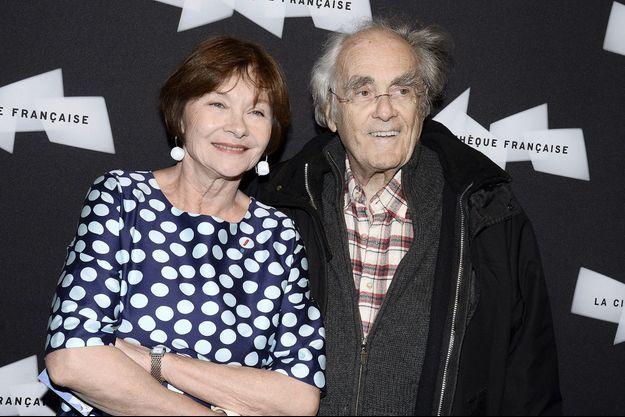 Macha Méril et Michel Legrand à Paris en mai dernier.