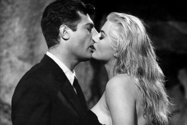 Inoubliable Marcello dans La Dolce Vita de Federico Fellini.