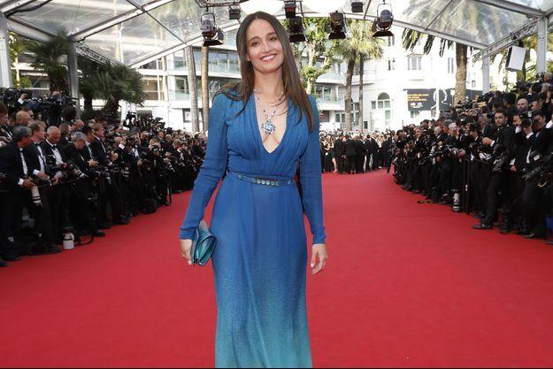 Marie Gillain le 13 mai dernier à Cannes.