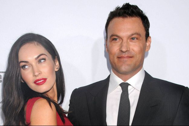 Megan Fox et Brian Austin, octobre 2014.