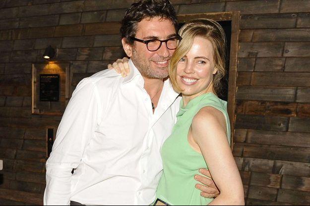 Melissa et son compagnon à NYC, en 2013.