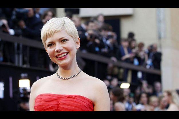 Michelle Williams lors de la cérémonie des Oscars, en février dernier.