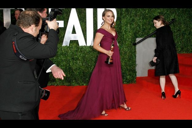 Natalie Portman lors des Oscars, dimanche dernier.