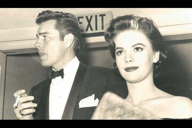 Robert Wagner et Natalie Wood en 1957.