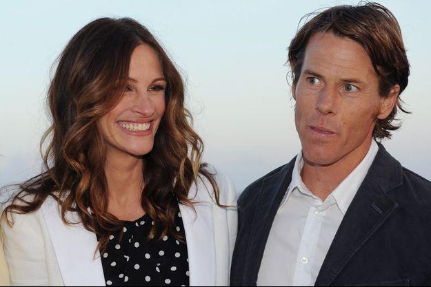 Julia Roberts et Daniel Moder à Los Angeles en 2012.