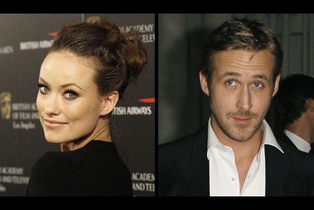 Olivia Wilde et Ryan Gosling.