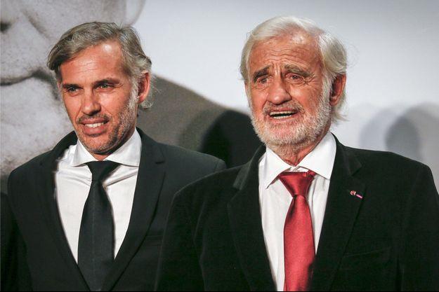 Paul et Jean-Paul Belmondo