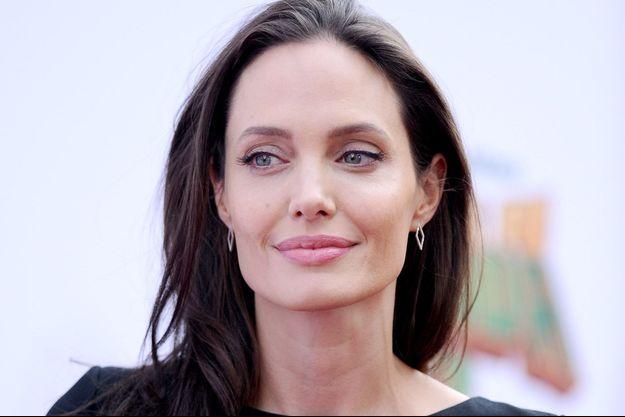 Angelina Jolie à Los Angeles, en janvier 2016.