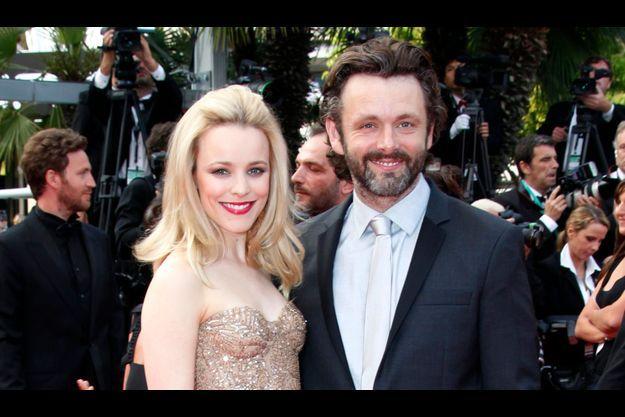 Rachel McAdams et Michael Sheen le 12 mai 2011, au Festival de Cannes.