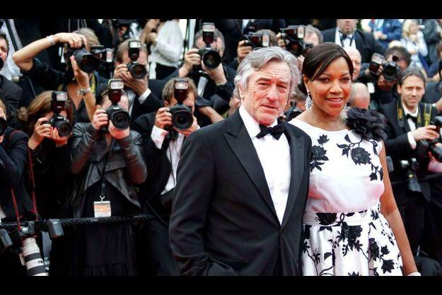 Robert De Niro et son épouse.