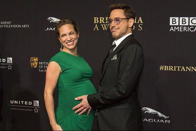 Robert Downey Jr. et son épouse, Susan, aux «BAFTA Los Angeles Jaguar Britannia Awards» le 30 octobre