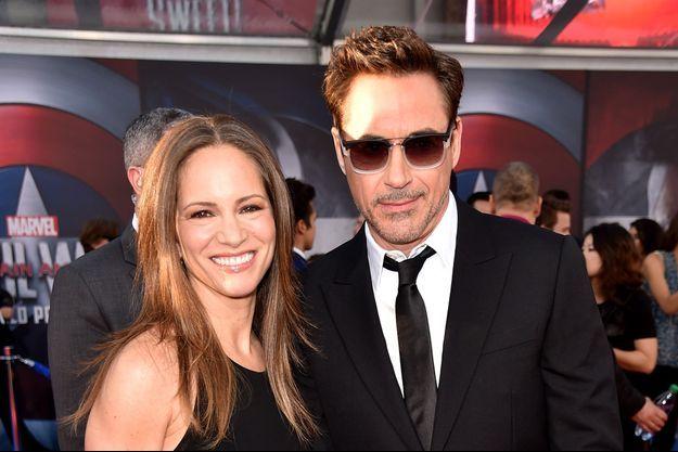Robert Downey Jr et sa femme, Susan.