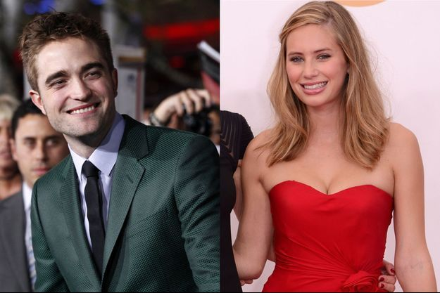 Robert Pattinson et Dylan Penn.