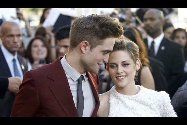 Robert Pattinson et Kristen Stewart en 2010.