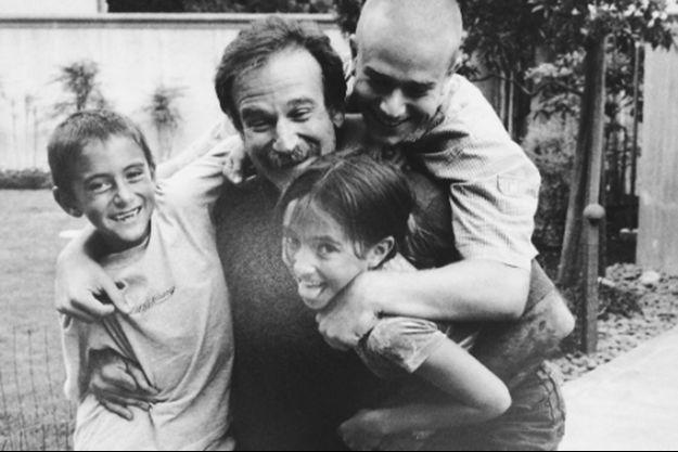 Robin Williams et ses enfants